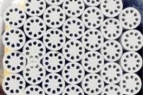 高纯电熔氧化镁柱(九孔)